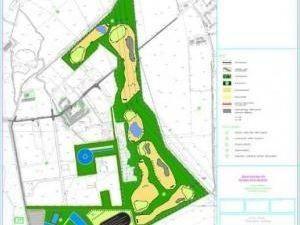 Milano - progetto campo golf Milanese